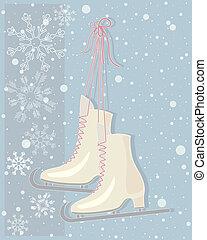 型, スケート
