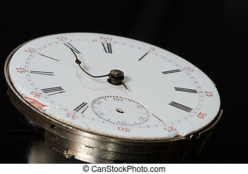型, ストレス, 切迫した, 目に見える, 期限, 腕時計, ポケット