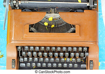 型, タイプライター