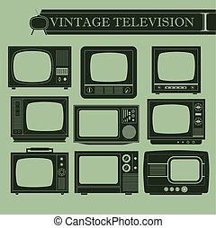 型, テレビ, i