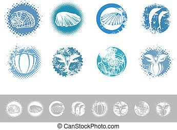 型, デザインを設定しなさい, 海洋