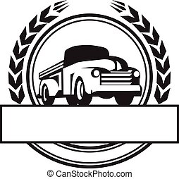 型, トラックを選びなさい, 黒い、そして白い, レトロ
