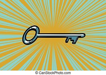 型, ドアの キー