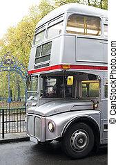 型, バス, 中に, london.
