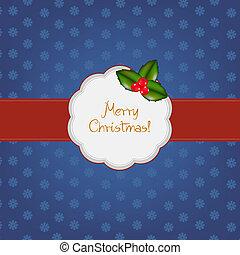 型, フレーム, クリスマス, 陽気