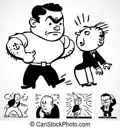 型, ベクトル, bully