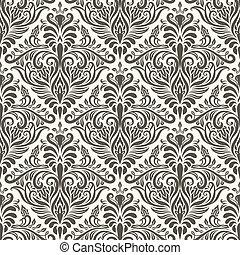 型, ベクトル, seamless, パターン