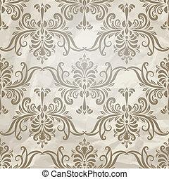 型, ベクトル, seamless, 壁紙パターン