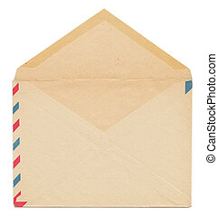 型, ペーパー, 封筒