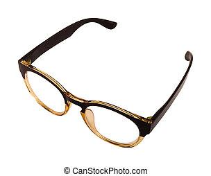 型, メガネ