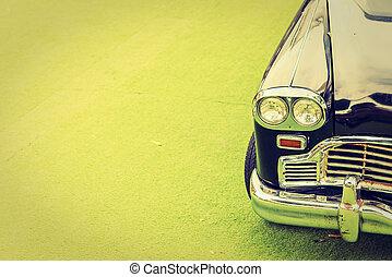 型, ランプ, ヘッドライト, 自動車
