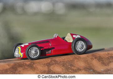 型, レースカー
