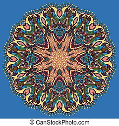 型, 円, アラベスク, パターン