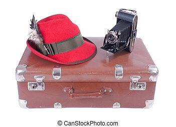 型, 写真撮影, 伝統的である, カメラ, 帽子, ババリア人