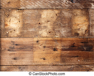 型, 古い, 木, グランジ, バックグラウンド。