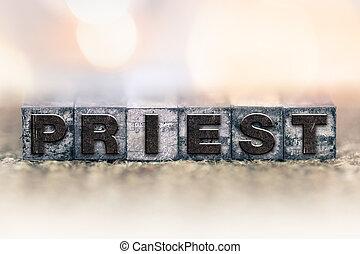 型, 司祭, 概念, タイプ, 凸版印刷