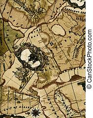 型, 地図