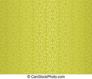 型, 壁紙, デザイン, 緑の背景