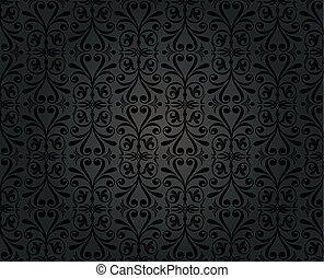 型, 壁紙, デザイン, 背景, 黒