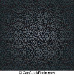 型, 壁紙, 黒