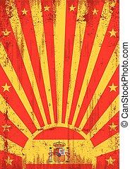型, 太陽光線, スペイン