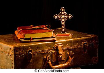 型, 宣教師, religous, 教会, 供給