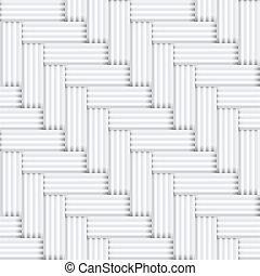 型, 広場, パターン, -, seamless, halftone, ベクトル, 黒い背景, 寄せ木張りの床, 白