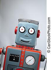 型, 微笑, ロボット