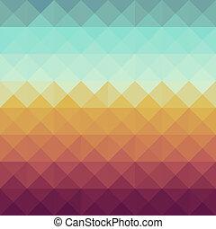 型, 情報通, pattern., 幾何学的