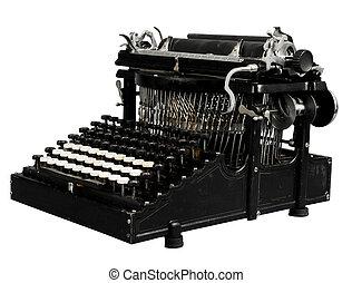 型, 手動のタイプライター
