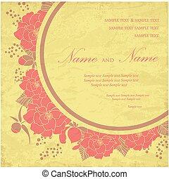 型, 招待, 結婚式