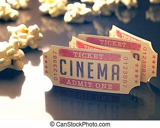 型, 映画館