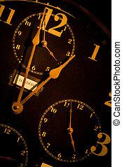 型, 時計, ∥で∥, mulitple, 顔