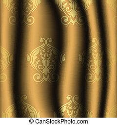 型, 材料, 金, パターン