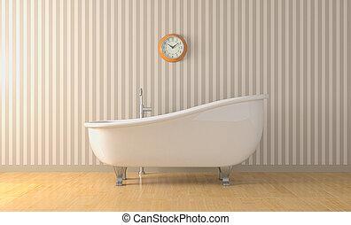 型, 浴槽