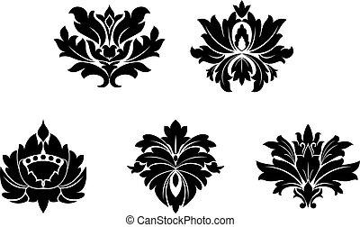 型, 花, パターン