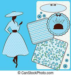型, 裁縫, 要素