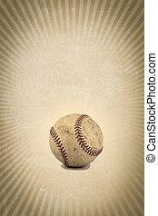 型, 野球, 背景