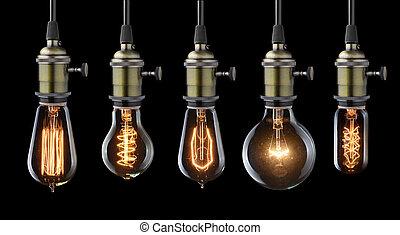 型, 電球