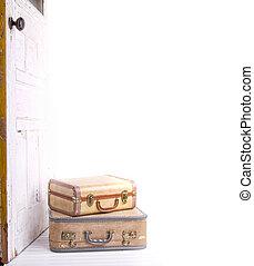 型, 2, スーツケース