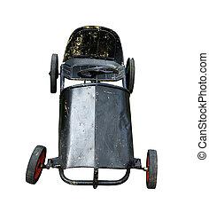 型, childs, 金属, 自動車