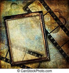 型, frame., 背景