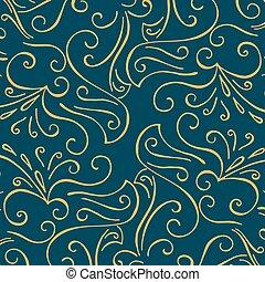 型, pattern., 贅沢, 背景