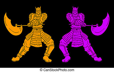 型, samurais