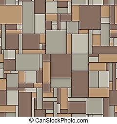 型, seamless, 色, ベクトル, パターン, リノリウム