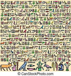 埃及 hieroglyphics