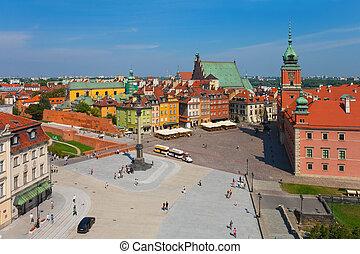 城堡, 廣場, 華沙, 波蘭