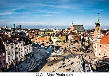 城堡, 廣場, 華沙