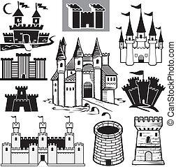城堡, 彙整
