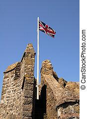 城堡, 旗